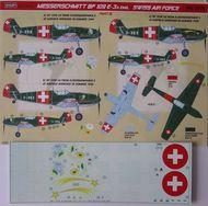 Kora Models  1/32 Messerschmitt Bf.109E-3A Emil (Swiss AF) Part III KORD3220