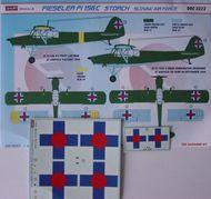 Kora Models  1/32 Fieseler Fi-156C 'Storch' (Slovak Air Force) KORD3222