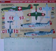 Kora Models  1/32 Messerschmitt Bf.109F-4/Z (Swiss Air Force) KORD3223