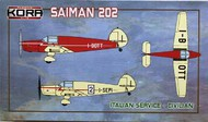 Saiman 202 Italian Service - Civilian #KORPK72101