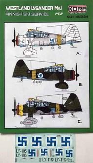 Westland Lysander Mk.I - Finnish Service Part 2 #NDT48034