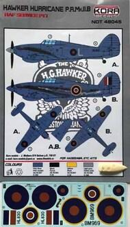 Hawker Hurricane PR Mk.IIB RAF service #NDT48044