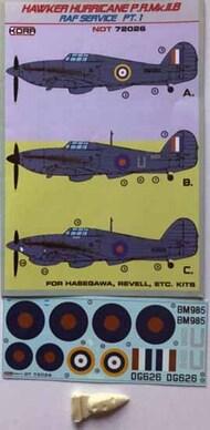 Hawker Hurricane PR Mk.IIB (RAF) Part 1 #NDT72026