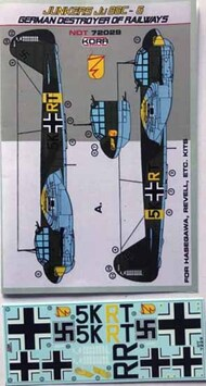 Junkers Ju.88C-6 Railways destroyer #NDT72029