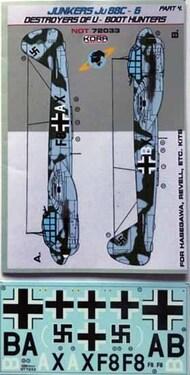 Junkers Ju.88C-6 Destroyer of U-Boot hunter Pt.4 #NDT72033
