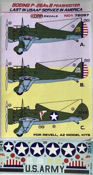 Boeing P-26A/P-26B Peashooter Last in USAAF service in America #NDT72057
