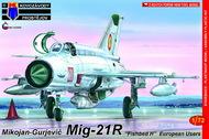 Mikoyan MiG-21R Fishbed H 'Recce' (RV #KP72086