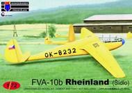 FVA-10b Sidlo 'Czechoslovak aeroclubs' (gliders) #KPM72154