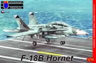 McDonnell-Douglas F-18B Hornet 'Low-vis' ex-Italeri #KPM72164
