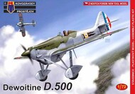 Dewoitine D.500 'French Air Force' new mould (not a PAVLA kit) #KPM72177