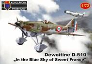 Dewoitine D.510 'Over France' new mould (not a PAVLA kit) #KPM72179