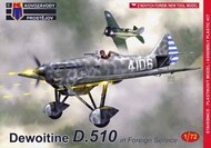 Dewoitine D.510 'In Foreign service'  new mould (not a PAVLA kit) #KPM72185