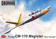 Fouga CM-170 Magister 'Over Europe' German Navy 1968; Finnish Air Force, French Air Force; #KPM72242