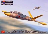 Fouga CM-170 Magister 'Over Israel' x 3 schemes #KPM72243
