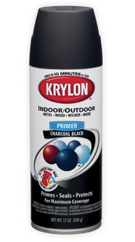 KRYLON PRODUCTS  Primer 12oz. All Purpose Black Primer KRY1316
