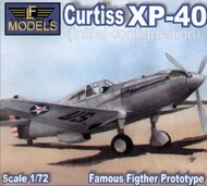 Curtiss XP-40 initial configuration #LF72059