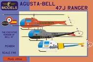 Agusta-Bell 47J Ranger (France, UK, Spain) #LFM-PE4804