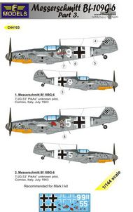 LF Models  1/144 Messerschmitt Bf.109G-6 Comiso Part 3 LFMC44103