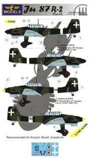 LF Models  1/144 Junkers Ju.87R-2 'Stuka' part 2 (designed to be used will Eduard, Revell and Zvezda kits) LFMC4420