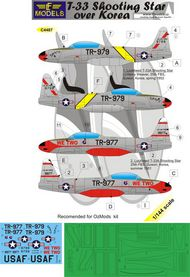 LF Models  1/144 Lockheed T-33A Shooting Star over Korea LFMC4487