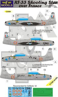 LF Models  1/144 Lockheed RT-33A Shooting Star over France LFMC4489