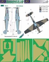 LF Models  1/24 Messerschmitt Bf.109E Late part I. Camouflage Pattern Paint Mask LFMM2403