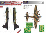 Boeing B-17 Flying Fortress RAF Camo.painting #LFMM7265