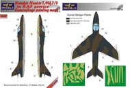 Hawker Hunter T.Mk.7/8 RAF camouflage pattern paint mask #LFMM7269