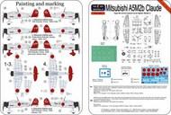 Mitsubishi A5M2b Claude (ex AVI Models) #LFPE7223
