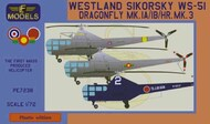 Westland Sikorsky WS-51 Dragonfly Mk.I/Mk.IB/HR.Mk.3 Japan, RAF, Spain #LFPE7238
