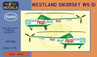 Westland Sikorsky WS-51 Persil promoted helicopter #LFPE7240
