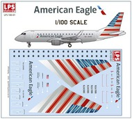 LPS  1/100 Embraer 175 American Eagle LPS100-01