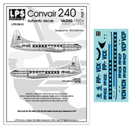 LPS  1/126 VARIG Convair 240 delivery colors (for the Testers kit)[Convair C-131] LPS126-01