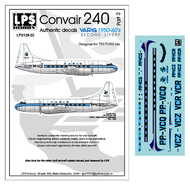 LPS  1/126 VARIG Convair 240 delivery colors for the Testers kits [Convair C-131] LPS126-02