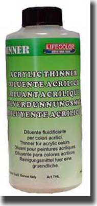 Life Color Paints  Thinner Acrylic Thinner (250ml Bottle) LFCBIGT