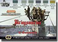 Life Color Paints  LifeColor 22ml Acrylic Camo Set: Kriegsmarine WWII Paint Set #2 LFCCS12