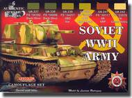 Life Color Paints  LifeColor 22ml Acrylic Soviet WWII Armor LFCCS23