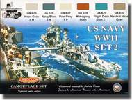 Life Color Paints  LifeColor 22ml Acrylic US Navy WWII Set 2 LFCCS25