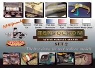 Life Color Paints  LifeColor 22ml Acrylic Tensocrom Weathering #2 Acrylic Set LFCTSC2