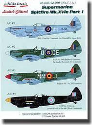 Supermarine Spitfire Mk.XVIe Part 1 #LLD48006
