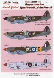 Supermarine Spitfire Mk.XVIe Part 2 #LLD48007