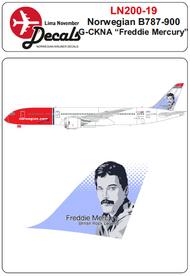 Lima November  1/200 Norwegian Boeing 787-900 G-CKNA 'Freddie Mercury' LN20019
