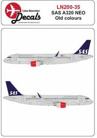 Lima November  1/200 SAS old cs Airbus A320 NEO LN20035