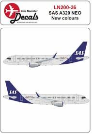 Lima November  1/200 SAS new cs Airbus A320 NEO LN20036