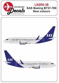 Lima November  1/200 SAS new cs Boeing 737-700 LN20038