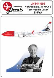 Norwegian Boeing 737 Max 8 EI-FYA 'Sir Freddie Laker' #LN44605