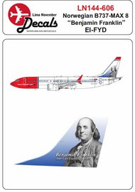 Norwegian Boeing 737 Max 8 EI-FYD 'Benjamin Franklin' #LN44606