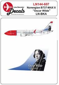 Norwegian Boeing 737 Max 8 LN-BKA 'Oscar Wilde' #LN44607