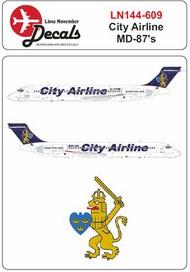 City Airline (Sweden) McDonnell-Douglas MD-87 #LN44609