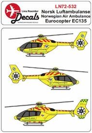 Luftambulansen Eurocopter EC-135 #LN72532